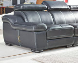 [أو] شكل جلد أريكة, أريكة حديثة, أسود لون أريكة ([أ302])