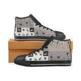 標準的な男女兼用のズック靴の昇華プリント習慣はスニーカーを作る