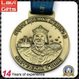 カスタム高品質の方法ゾンビの金属メダル