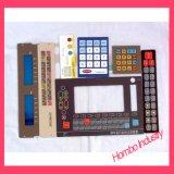 Aluminiumplatten-Tasten, die Membranen-Tastaturblock-Schalter prägen