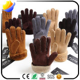 完全な指の冬の暖かい手袋を厚くするOutflydoubleの層の羊毛のWindbreak