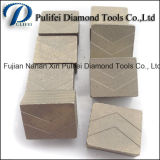 Segmenteert de Gemaakte Steen van de Hulpmiddelen van de Diamant van China Fabriek de Gesoldeerde Schijf van de Diamant