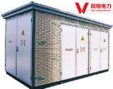 결합된 변압기 또는 Europ Pretabricated Substation/Yb10-125kVA Electrice 전력 변압기