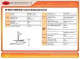 Sistema de alta frecuencia Xm-Hf50-R de la radiografía del equipamiento médico 630mA