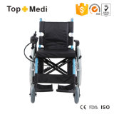 Sedia a rotelle di alluminio di energia elettrica di prezzi poco costosi economici di Topmedi