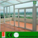 外部の開き窓のドアは買物中国、三重の艶出しのWindowsおよびドアの価格を指示する