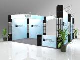 Идеи будочки стойки торговой выставки изготовленный на заказ для индикаций выставки