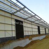 Almacén ligero prefabricado de la estructura de acero de la instalación fácil del metal con ISO9001