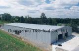 China-bester Lieferant des temporären Lager-Zeltes mit Stahlwänden oder Belüftung-Wänden oder ABS Wand