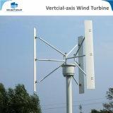 turbina de viento vertical del generador de viento del imán permanente del molino de viento del eje 300With500With600With1kw/10kw