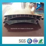 Personalizado de la buena calidad de rodillos perfil de puerta de persiana de aluminio