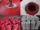 Tubo flessibile di gomma Braided NBR di consegna del combustibile e dell'olio della fibra ad alta pressione per industria ed il serbatoio