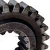 Engranajes, hechos del acero inoxidable, utilizado para la ingeniería