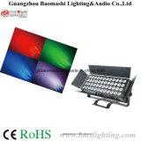 LEDの表面ライトまたは洪水のライトまたはプロジェクトの軽い/Spot 1つのライトに付き48*12W RGBW 4つ