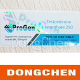Cstomの機密保護のホログラム薬剤のための10のMlのガラスびんのラベル