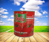 Formato inscatolato dell'inserimento di pomodoro di marca di Safa di 400g