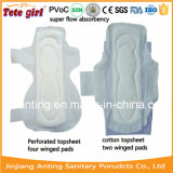 Les serviettes hygiéniques régulières, Madame régulière Pads, fuite empêchent la serviette hygiénique