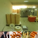 Máquina de papel de alta velocidad de la perforación del laser que inclina