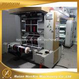 4 de Machine van de Druk van Flexo van de Hoge snelheid van de kleur met Kamer Dr. Blade