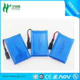GPS PSP DVDのパッドのE本のタブレットのパソコン力バンクのための3.7V 1800-4000mAh 606090ポリマーリチウムLipoの充電電池