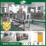 Halfautomatisch pvc etiketteert het Verwarmen van de Stoom het Krimpen de Machine van de Etikettering van de Koker