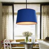 Lámpara pendiente de diverso del color Bl-496 de la tela hogar de la cortina