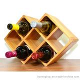 Cremagliera di visualizzazione da tavolo dei vini delle bottiglie della cremagliera 7 del vino del regalo di classe