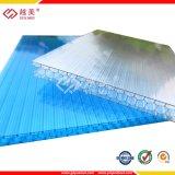 8mm 10mm Multiwall Polycarbonat-Höhlung-Blatt für Gazebo-und Dach-Farbton