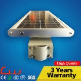 réverbère solaire en acier de 20W 5m Q235 Pôle DEL tout dans un