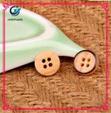 Bouton de chemise en bois d'imitation de bouton de résine de bouton