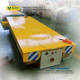 Carro grande accionado de la transferencia del carril del vector 10t del carrete de cable