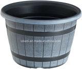 円形のプラスチック植木鉢(KD7101P-KD7104P)
