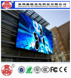 Hohes Auflösung P10 GROSSHANDELSBAD im Freien farbenreiches HD LED-Bildschirmanzeige-Panel bekanntmachend