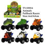 Het nieuwe Grappige Stuk speelgoed van de Raceauto's van Pullback van Dieren