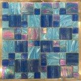 Mosaico di vetro blu nuvoloso per il raggruppamento (H455001)