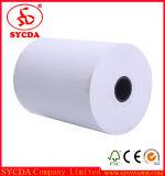 Rodillo del papel termal del papel de máquina de la impresora 55GSM