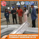 De Serre van het Blad van het Polycarbonaat van het Profiel van het Aluminium van de Structuur van het Staal van de multi-spanwijdte