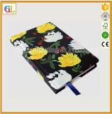 高品質のカスタムハードカバーのノートの本の印刷