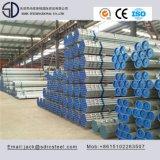 Caliente galvanizado tubo redondo de acero al carbono Sumergido