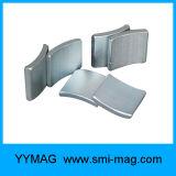 Starkes segmentiertes Neodym des Lichtbogen-Magnet-N52 für Verkauf