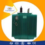 Tipo transformador de S11 Oill de potência trifásico da estrutura da bobina do enrolamento de 11kv 250kVA