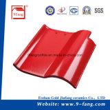 des Lehm-9fang Fertigung-Lieferant Dach-Fliese-Baumaterial-spanischer Dach-der Fliese-310*310mm Guangdong