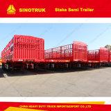 Haltbare chinesische Tri-Welle 60 Tonnen Stange-halb Schlussteil-