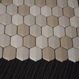 Hermoso diseño hexagonal en forma de mosaico de mosaico