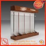 5層のガラスデザインの木製の記憶装置の表示