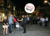 Pubblicità della sfera ambulante dello zaino dell'aria di Inflatables