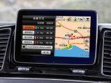 Relação video da navegação Android do GPS para a classe de Mercedes-Benz Gle (NTG-5.0)