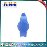 Uhr-Art-Gummi 125kHz RFID aktivierte Wristbands für Swimmingpool