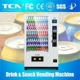 熱い販売法8インチの冷たいDrinks&Snacksの自動販売機
