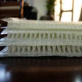 Los barcos usan paño tejido de fibra de vidrio 3D
